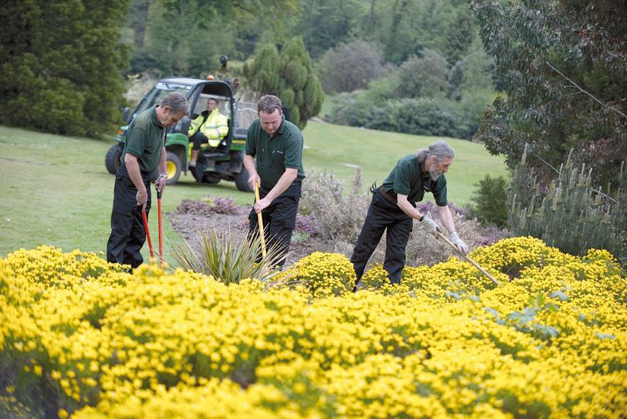 Sodexo Horticultural Services: works at more than 1,400 sites across the country - image: Sodexo