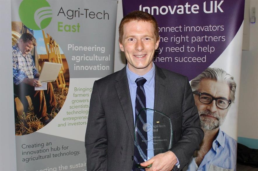 Softharvest's Armand de Durfort - image: Agri-Tech East