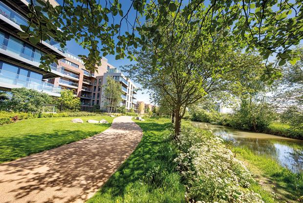 BALI Principal Award 2016 winner In-Ex Landscapes' Woodberry Down (Kick Start Site 3). Image: BALI