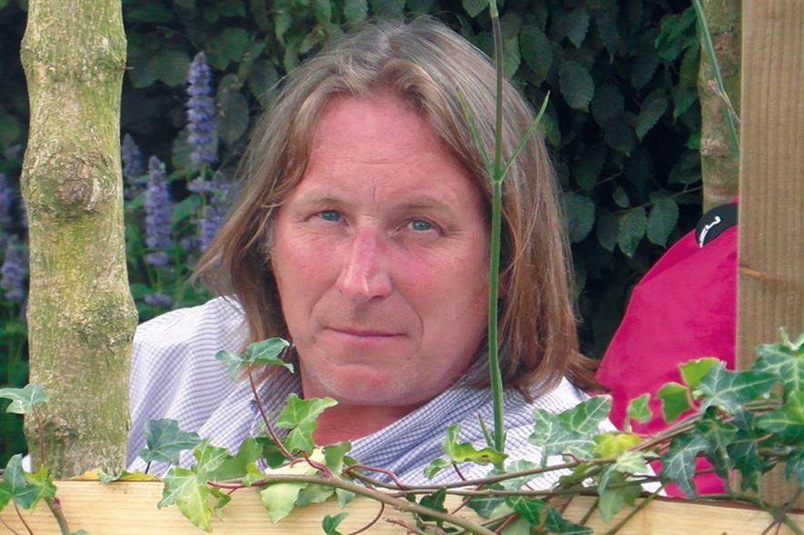 Stephen Hall, garden designer
