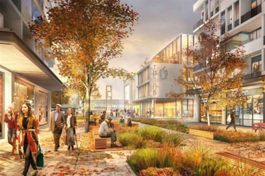 Town centres: shift towards leisure use - image: Stevenage Borough Council/Mace