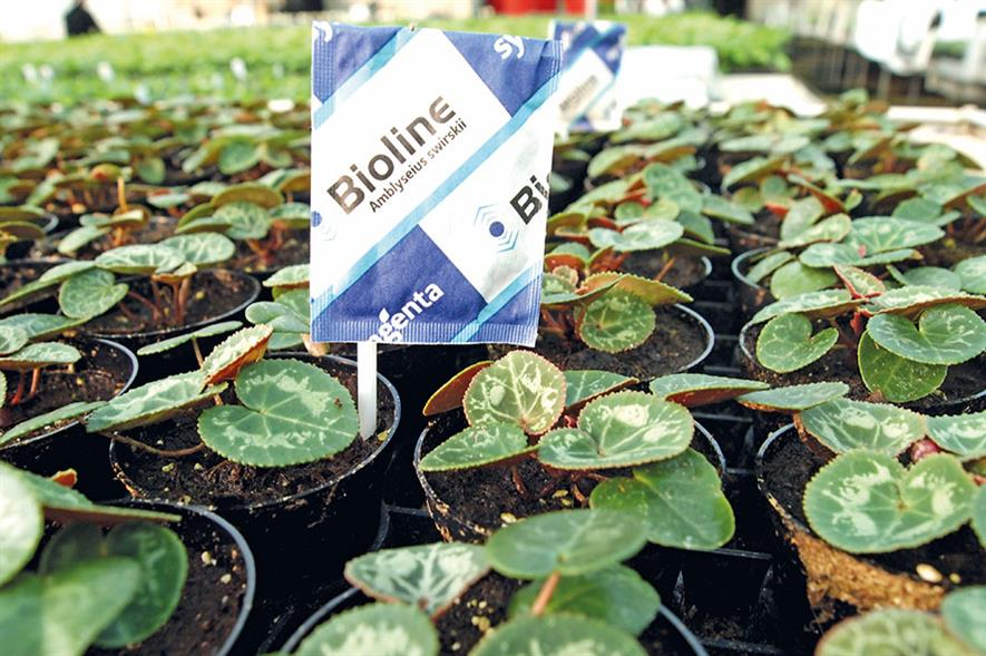 Bio-protection: industry is growing much faster than conventional plant protection - image: Syngenta/Bioline AgroSciences