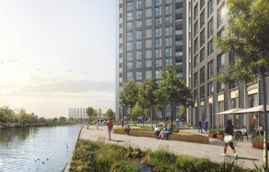 Ailsa Wharf will make new parts of the riverside public realm. Image: Stockwool Architects