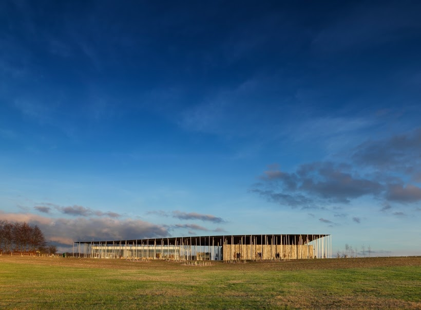 View of the new Stonehenge Visitor Centre. Photo: James O'Davies English Heritage