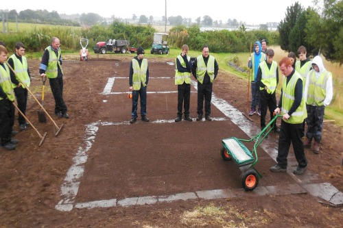 Greenkeeping students at SRUC get to work with Rigby Taylor seed