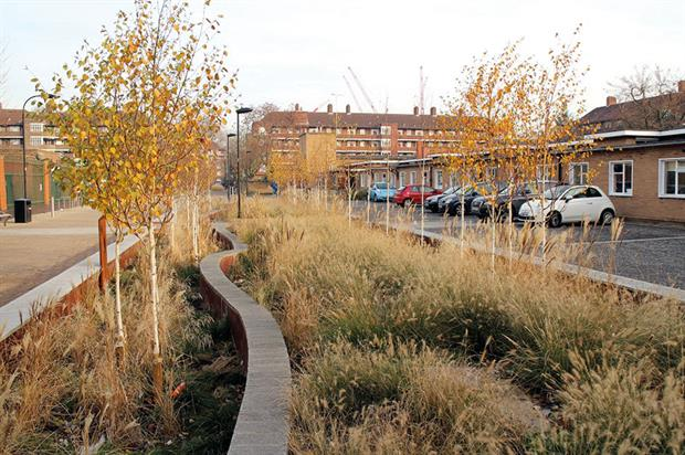 Example of a successful SuDS. Image: CIWEM
