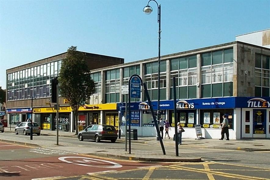 Kingsway, Swansea - image: Jaggery (CC BY-SA 2.0)