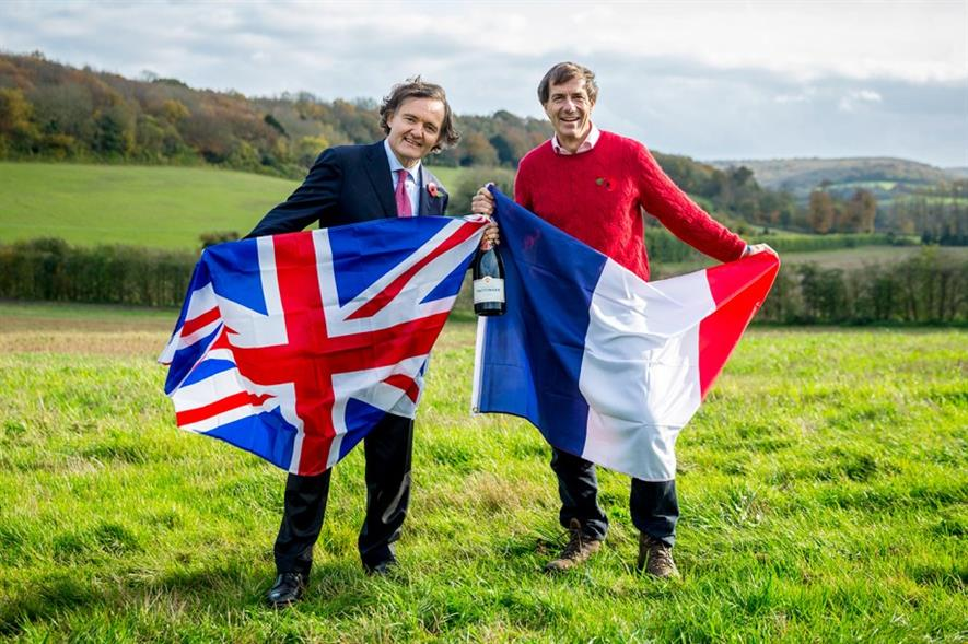Pierre-Emmanuel Taittinger and Hatch Mansfield managing director Patrick McGrath MW - Image: Thomas Alexander Photography