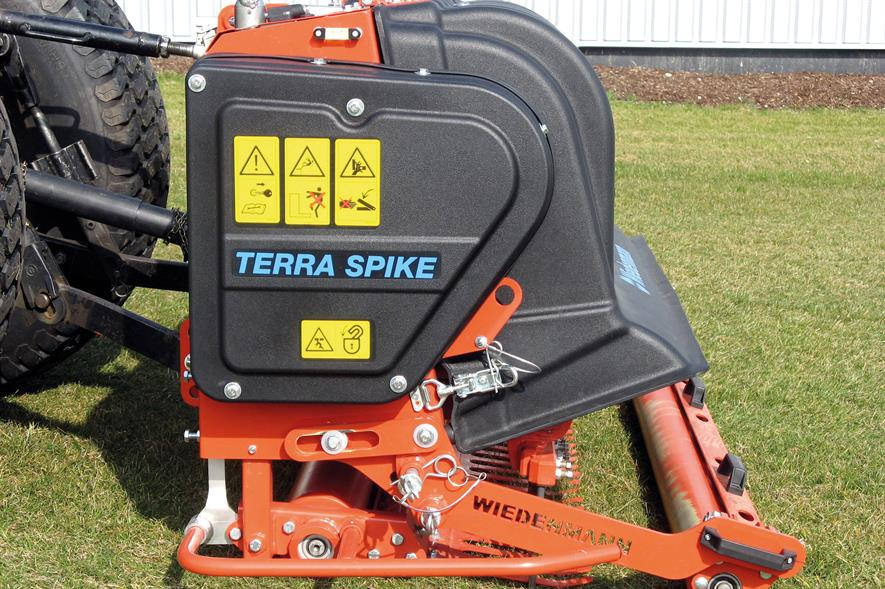 The Terra Spike is Wiedenmann's 11th aerator. Image: Wiedenmann UK