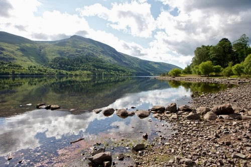 Thirlmere reservoir and forest - image:United Utilities