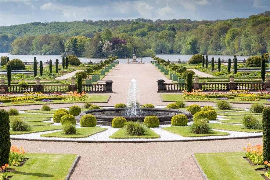 Trentham Gardens - credit: St Modwen