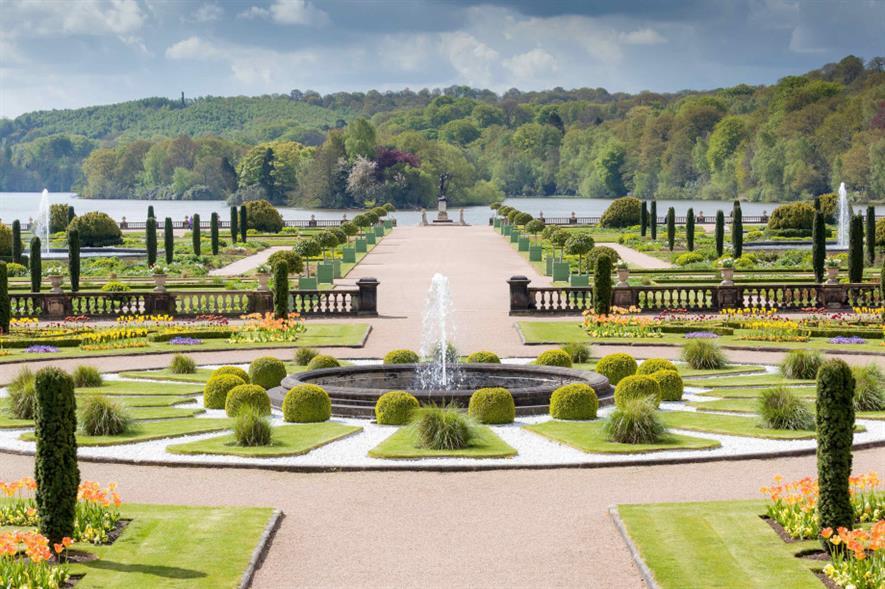 Trentham Gardens Italian garden - image: Trentham Estate