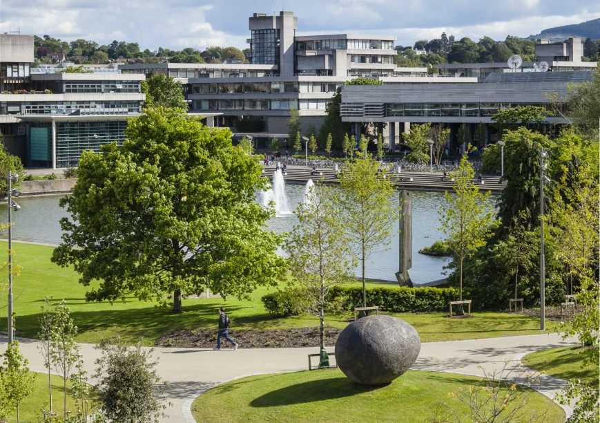 UCD's second campus is set in parkland. Image: Copyright Donal Murphy Photography