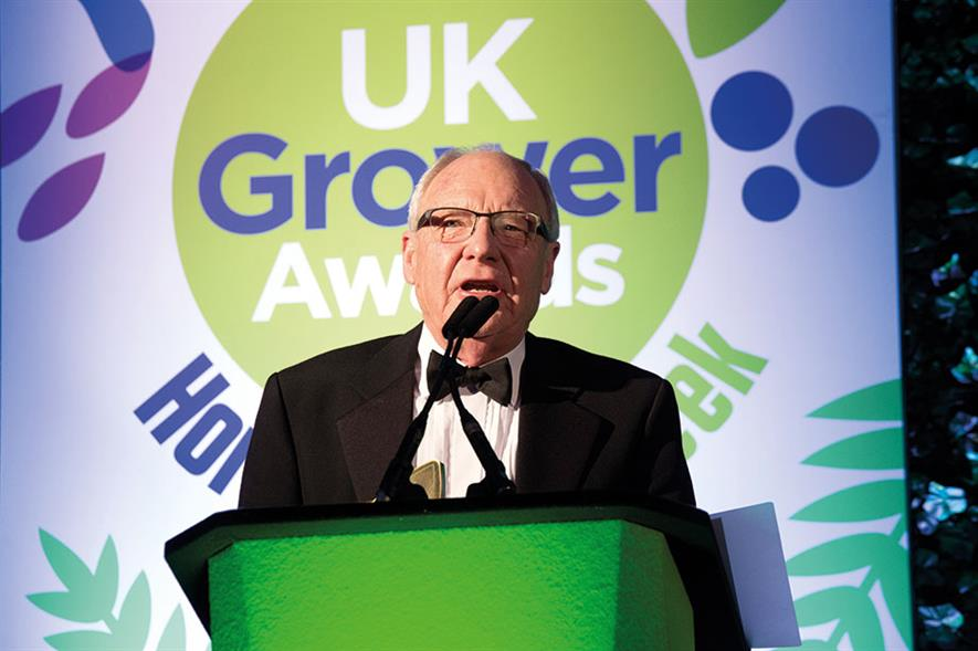 Outstanding Contribution to the Industry - Winner Bob Thomas, Intercrop