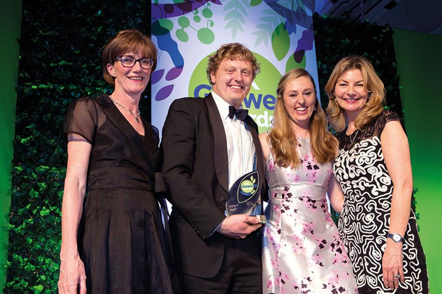Young Grower of the Year - Winner: Andrew Tumilty, Sunnyfields
