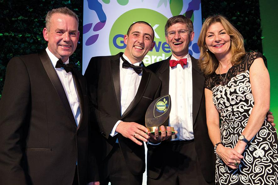 Edibles Grower of the Year - Winner Place UK