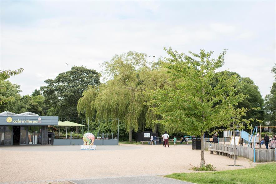 Work has begun on transforming the existing cafe in Exhibition Park - credit: Urban Green Newcastle