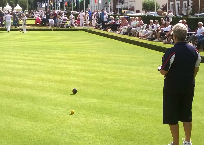 Performance of the greens at new English Bowls home and