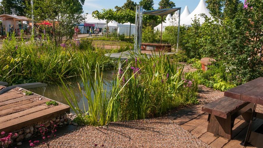 WWT Hampton garden-RHS