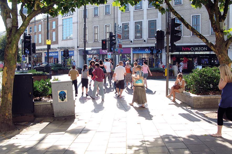 Wimbledon town centre - image: Flickr/CC