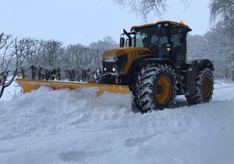 The Beast from the East brought business as well as snow. Image: Ground Control