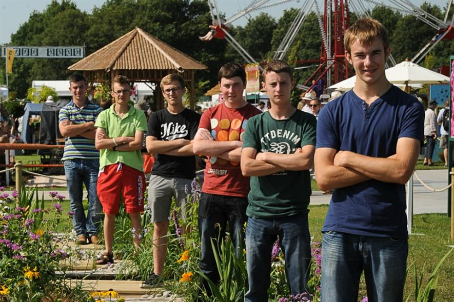 Landscaping finalists line up at RHS Tatton