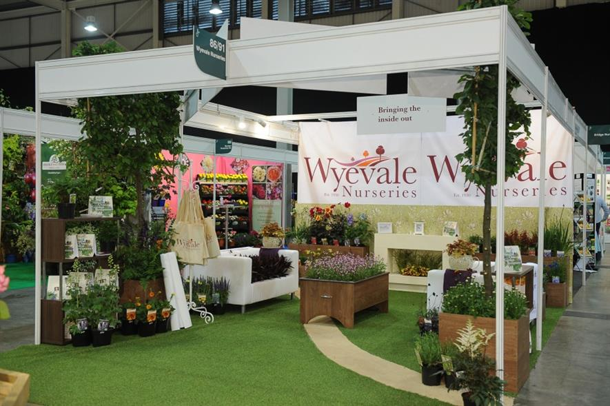 Wyevale's stand. Image: Supplied