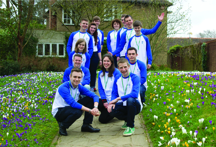 The YoungHorts pictured at RHS Wisley