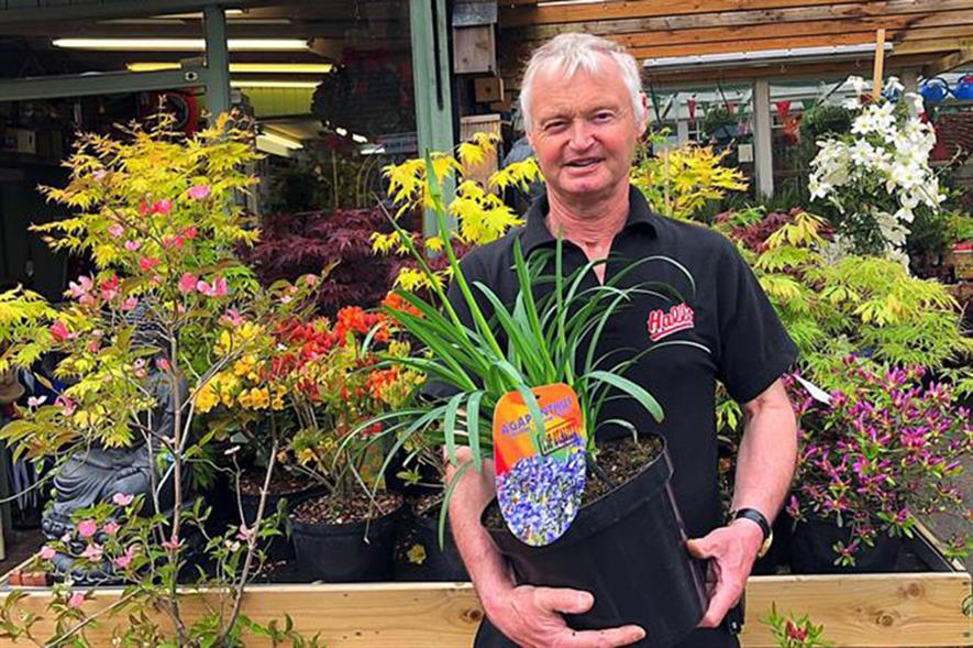 Hall's Garden Supplies Partner David Hall - image: Hall's Garden Supplies