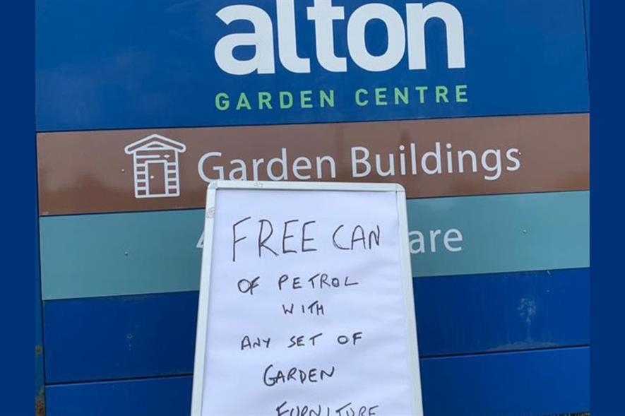 Free fuel at Alton