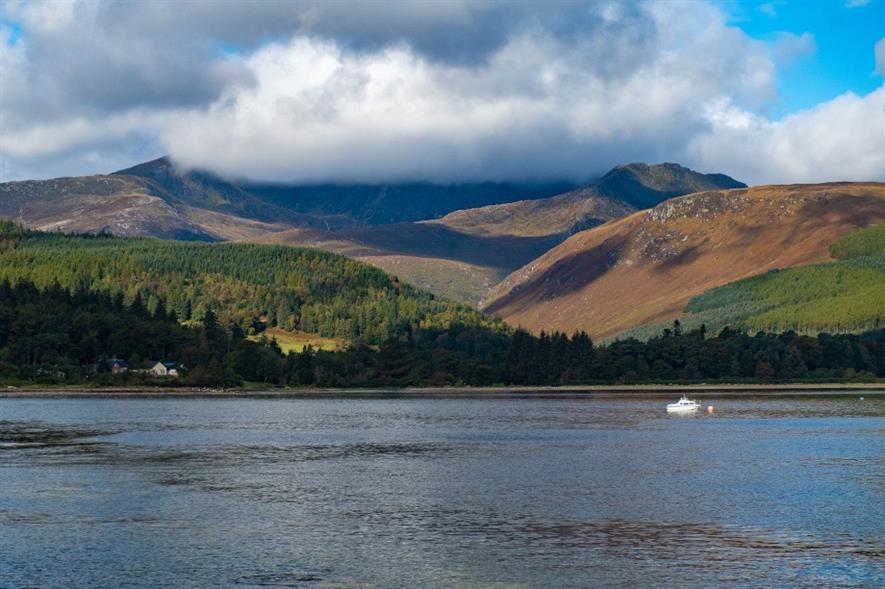Isle of Arran, Scotland - credit: Pixabay