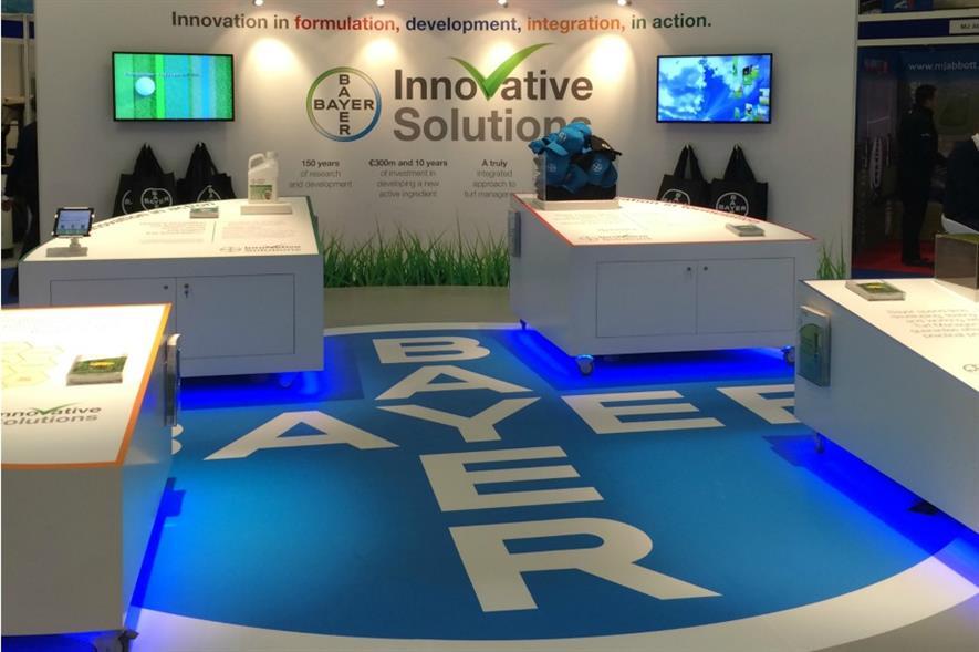 Bayer's BTME stand. Image: Bayer