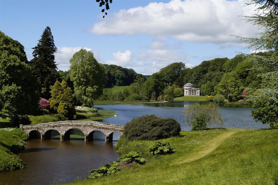 Stourhead in Wiltshire is one of more than 500 sites manged by the National Trust - credit: Pixabay