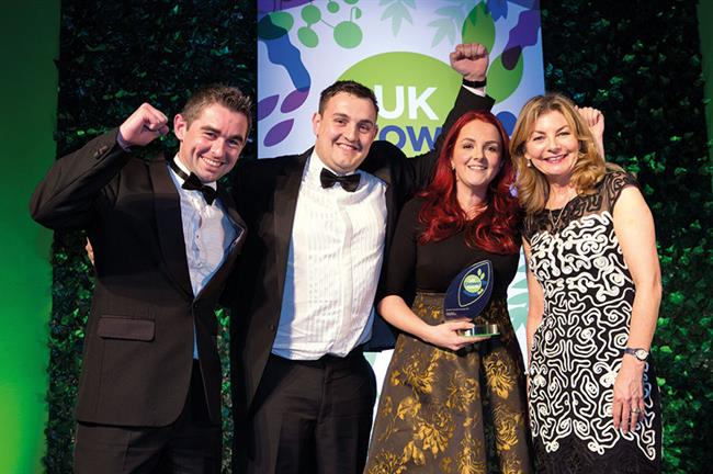 Award winner: Happy Plants scooped the 2017 Horticulture Week consumer marketing award