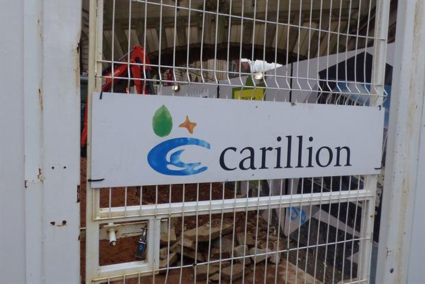 Work stopped on many projects after Carillion's collapse. Image: Flickr/Elliot Brown (CC by 2.0)