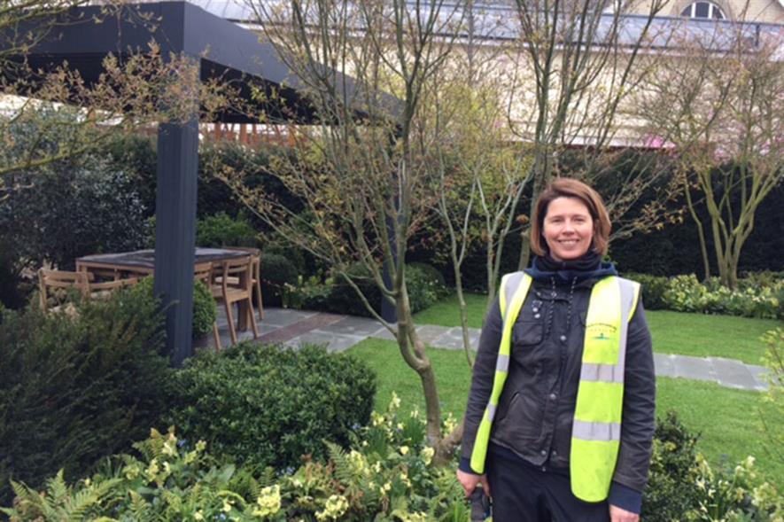Show garden designer Catherine MacDonald
