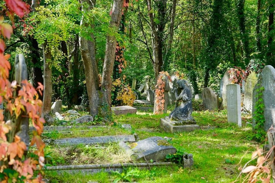 Highgate Cemetery - credit: Pixabay