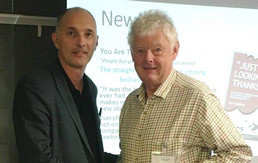 Mark Winchester and Tony Blake