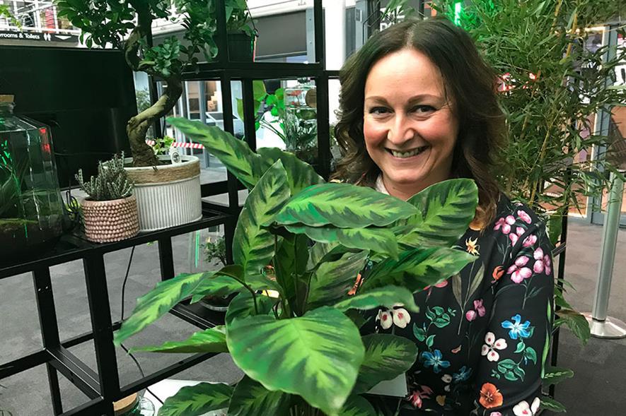 Dobbies' houseplant buyer Claire Bishop - image: HW