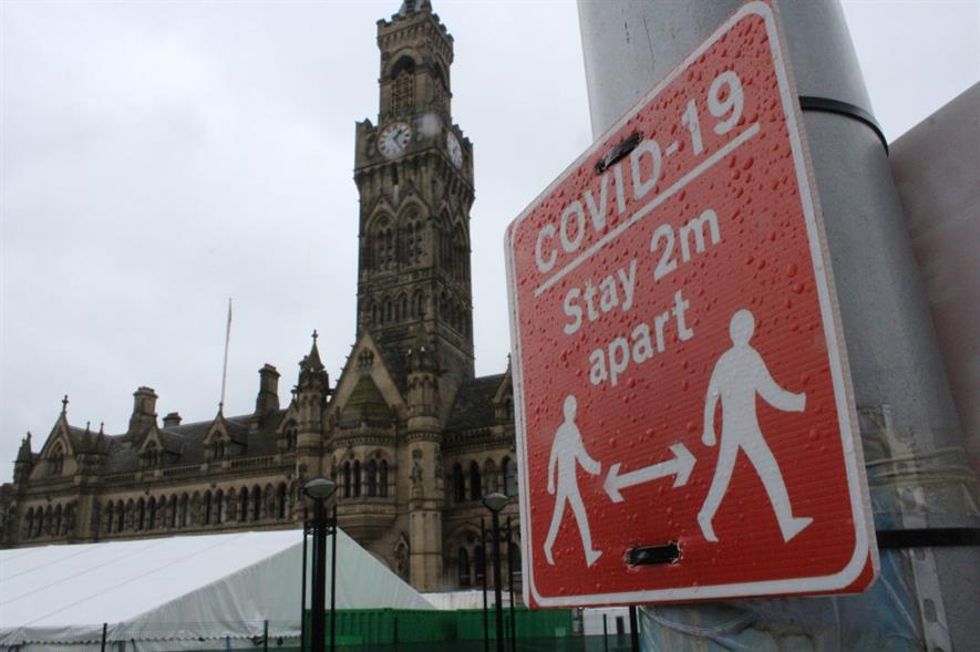 Bradford City Hall - credit: Pixabay