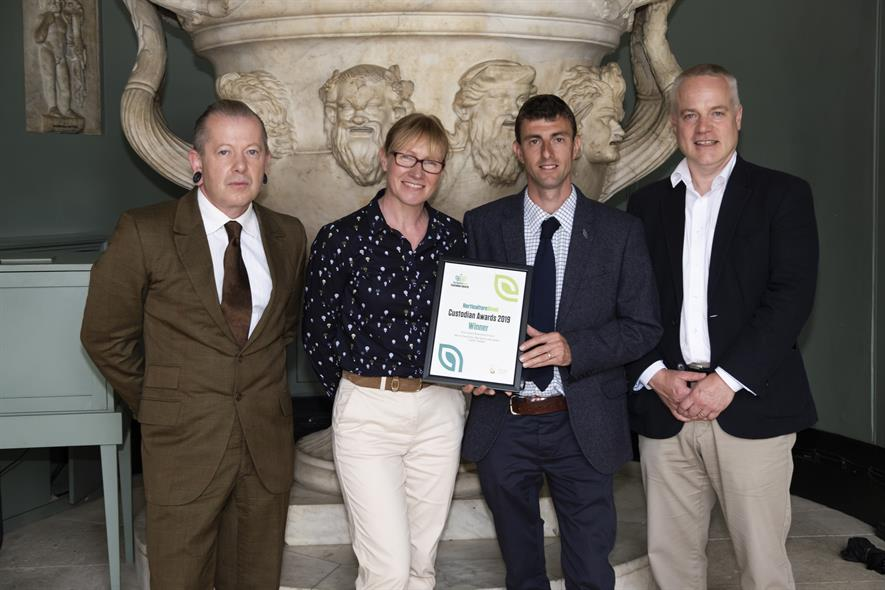 Best Garden Restoration - Mount Grace Priory, English Heritage