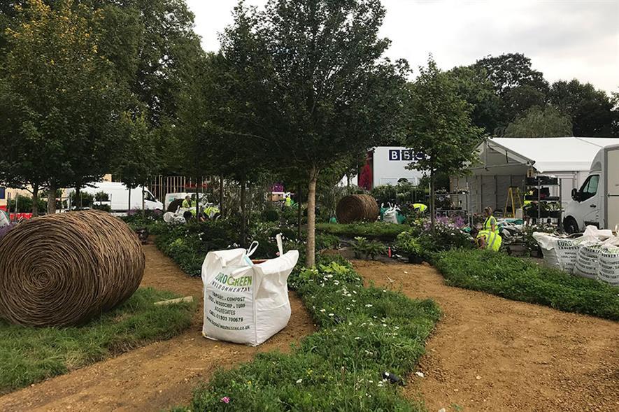 Queen's Green Canopy Garden