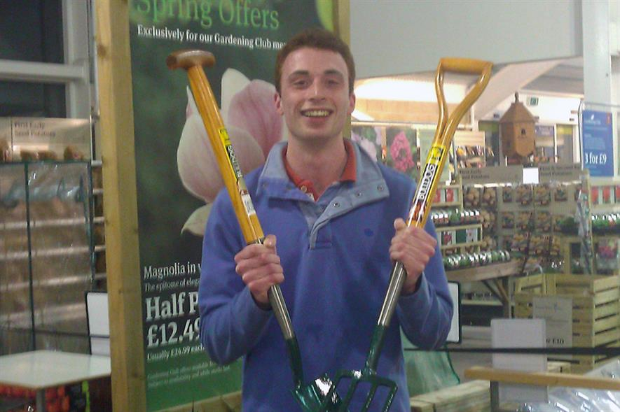 Young Horticulturist of the Year 2012 winner, Douglas Mackay - image: IoH