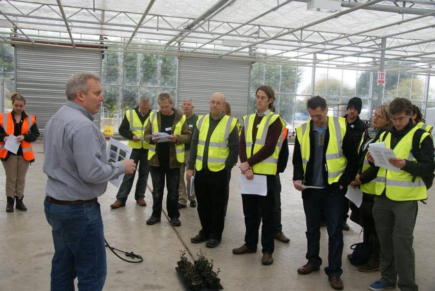 Jerry Overweg explains how to apply MossKade the new liverwort and moss control