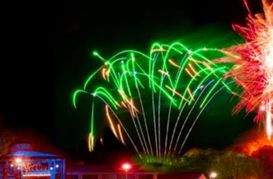 Fireworks launch Webbs ice rink