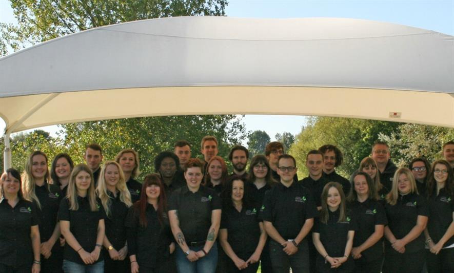 Homebase Garden Academy students - image: Homebase