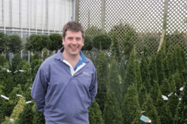 Provender Nurseries managing director Richard McKenna