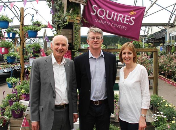 Colin Squire, Martin Breddy, Sarah Squire