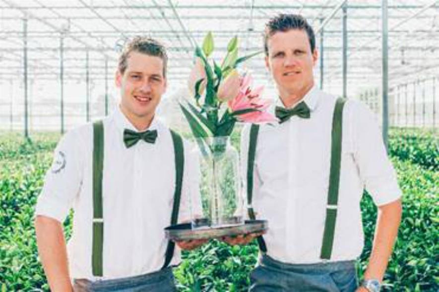 Marc van Steekelenburg (left) and Mike Groenewegen (right)