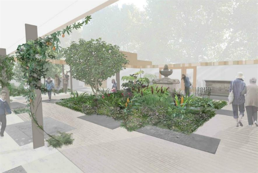 Dan Pearson courtyard garden